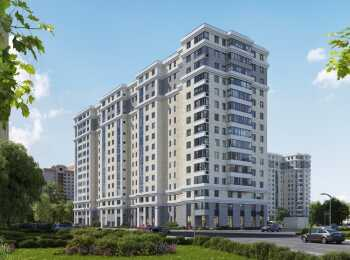 Вид на комплекс со стороны ул. Викторенко